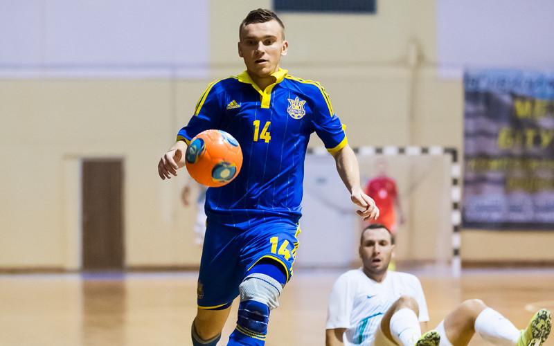 Франківський футзаліст забив гол у ворота Казахстану